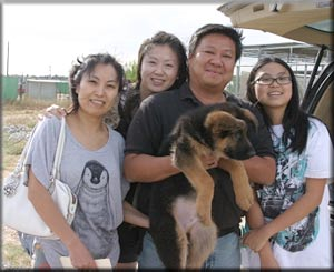 Yuan Family with Cola male.